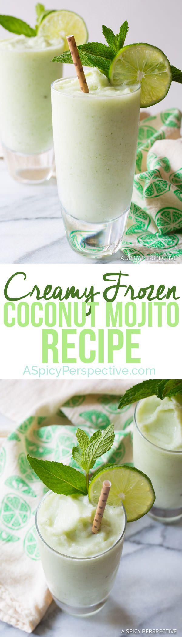 Wedding - Frozen Coconut Mojito