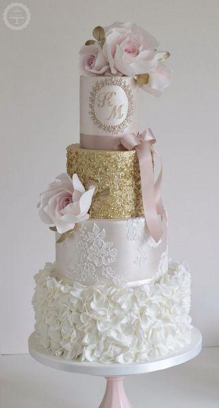 زفاف - Personalized Wedding Cake