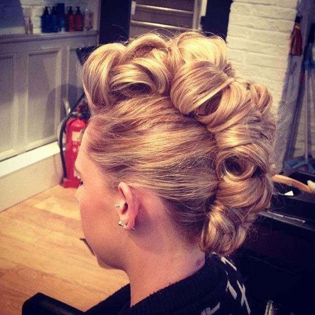 Hair - 23 Faux Hawk Hairstyles For Women #2760694 - Weddbook