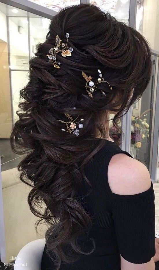 Свадьба - 100 Wow-Worthy Long Wedding Hairstyles From Elstile