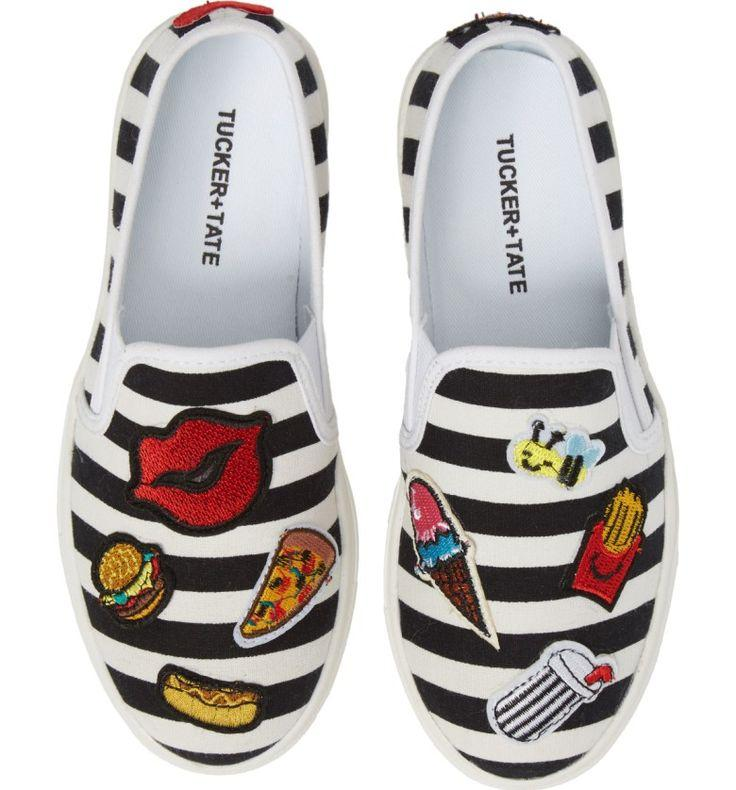 Hochzeit - Twinny Snack Appliqué Sneaker
