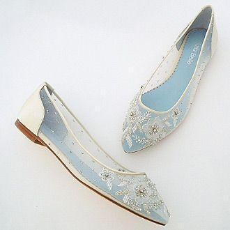 Свадьба - Adora Bridal Beaded Lace Flats