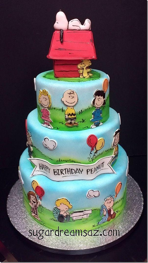 Wedding - Charming Charlie Brown Cake