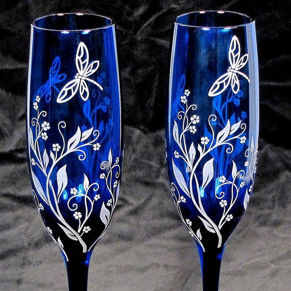 Cobaltroyal Blue Silver And White Wedding Ideas 2761910 Weddbook