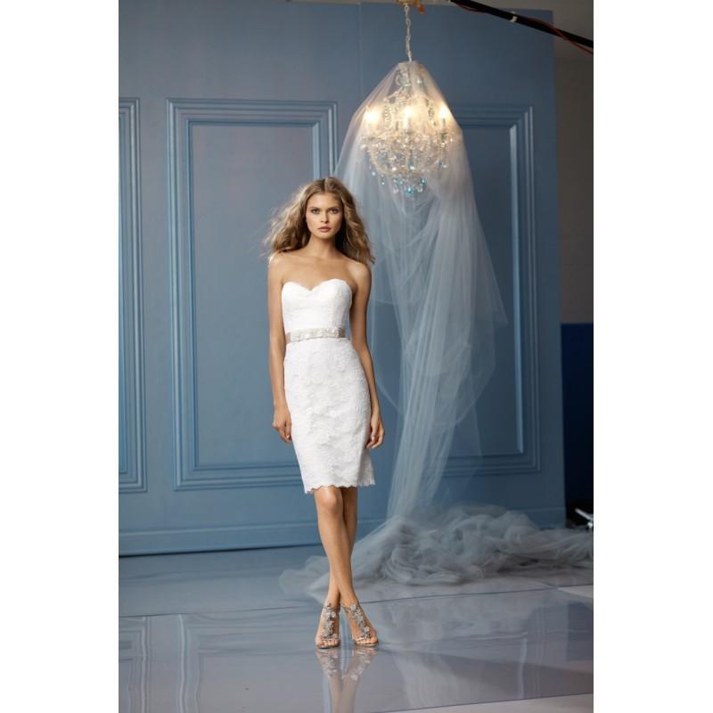 Wtoo By Watters Short Wedding Dress