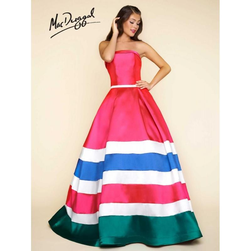 Mariage - Ball Gowns by Mac Duggal 65804H - Branded Bridal Gowns