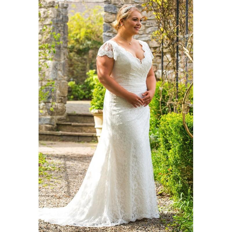 Plus-Size Dresses Style BB17509 By BB By Special Day - Ivory ...