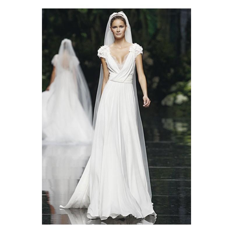 Vestido De Novia De Pronovias Modelo Louisse - Tienda Nupcial Con ...