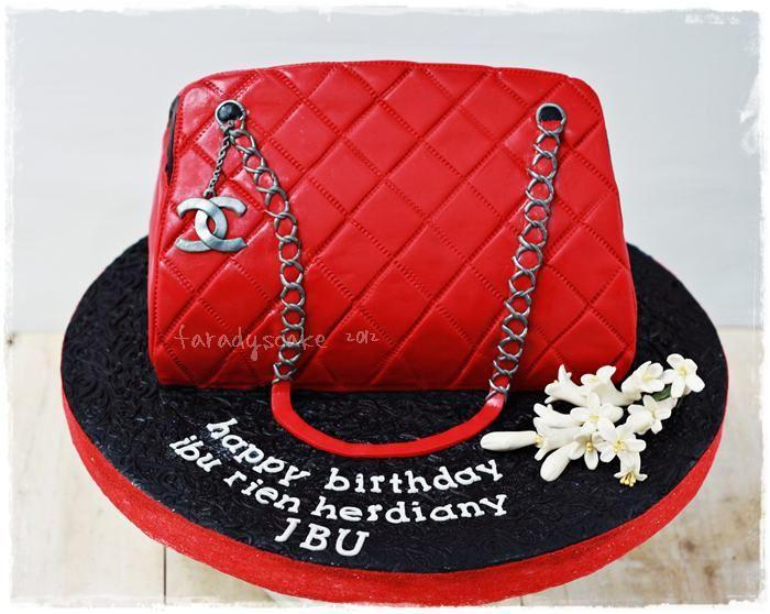 Purse Cakes And Fashion Designer Hand Bag Cakes 2762591 Weddbook