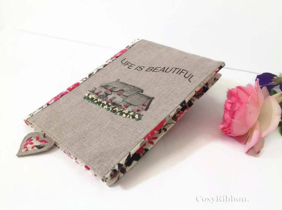 Hochzeit - Book cover, Bible Cover, Paperback Book Cover, Book Protector, Fabric Book Cover, Notebook Cover, Journal Cover, Planner Cover,