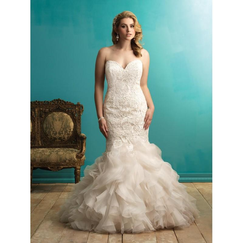 Wedding - Allure Bridal Women Size Colleciton W365 - Branded Bridal Gowns