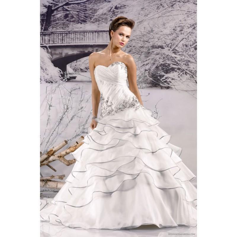 Paris Wedding Gowns: Miss Paris MP 133-04 Miss Paris Wedding Dresses 2017