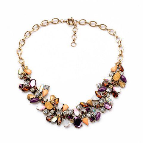 Hochzeit - Stone Mix Collar Necklace