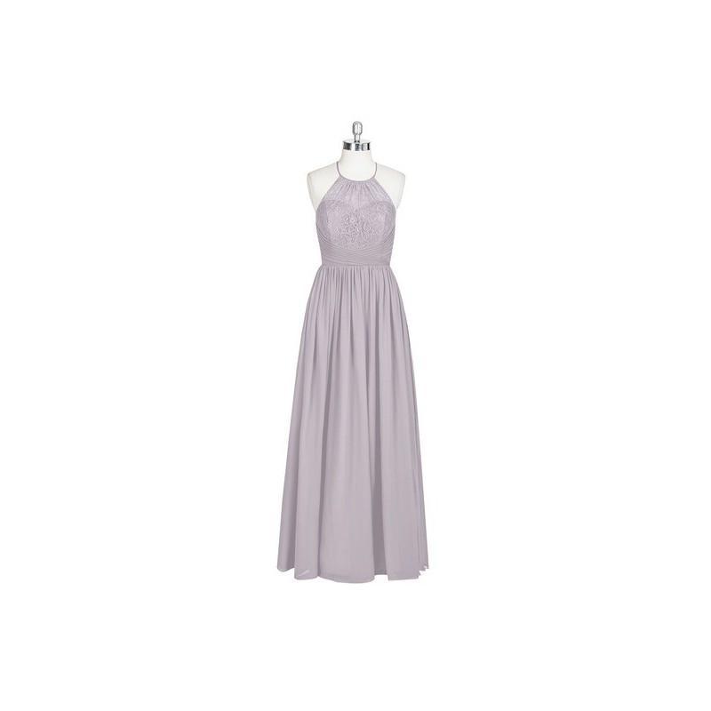 Свадьба - Dusk Azazie Harmony - Strap Detail Floor Length Halter Chiffon Dress - Charming Bridesmaids Store