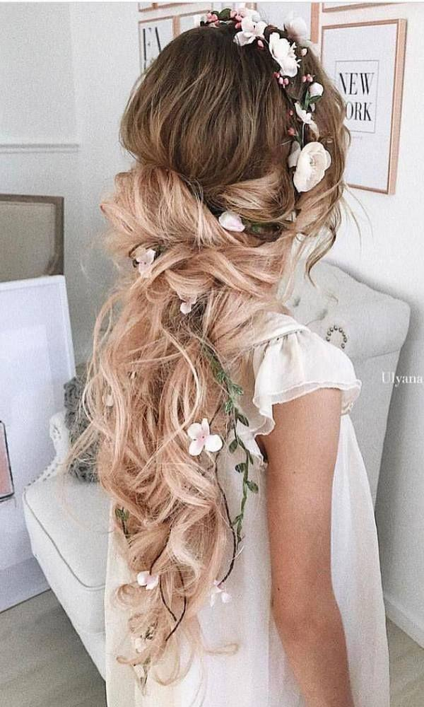 Wedding - 50 Long Wedding Hairstyles From 5 Best Instagram Hairstylists