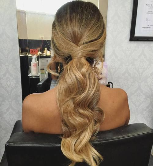 Mariage - 35 Super-Simple Messy Ponytail Hairstyles
