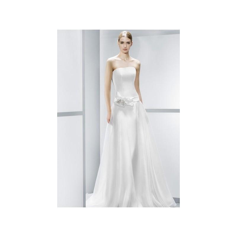 vestido de novia de jesús peiró modelo 4083 (27) - 2015 evasé