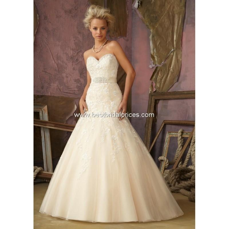 54efaeaaf39 Mori Lee Wedding Dresses - Style 1861 - Formal Day Dresses  2764303 ...