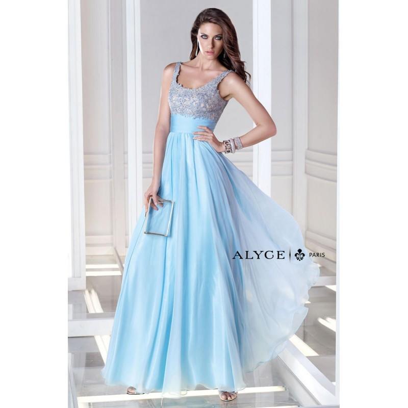 Mariage - Powder Blue B'Dazzle by Alyce Paris 35689 B'Dazzle by Alyce Paris - Rich Your Wedding Day
