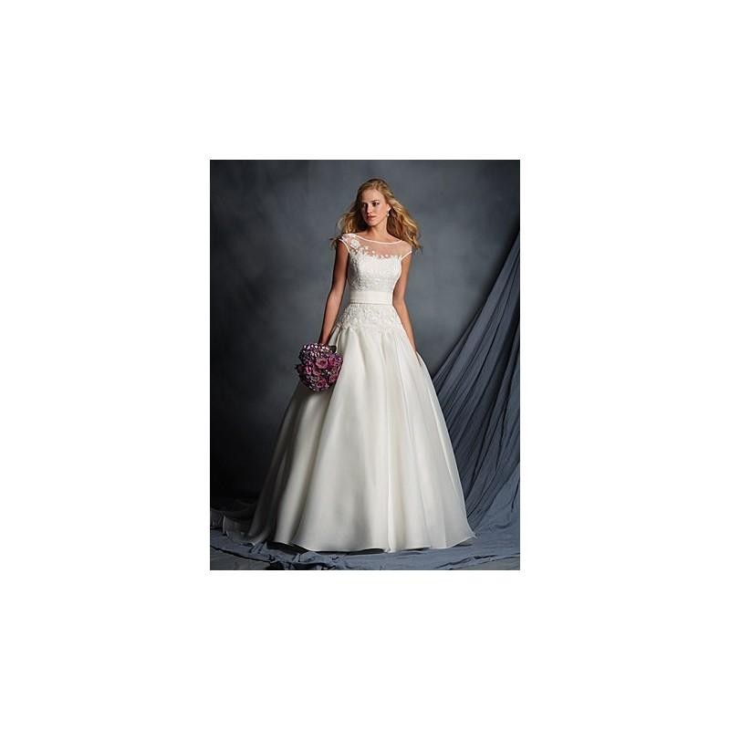 Alfred Angelo 2518 Wedding Dress. Ivory Size 12 In Stock. - Crazy ...