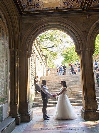 Hochzeit - Under Bethesda Terrace In Central Park