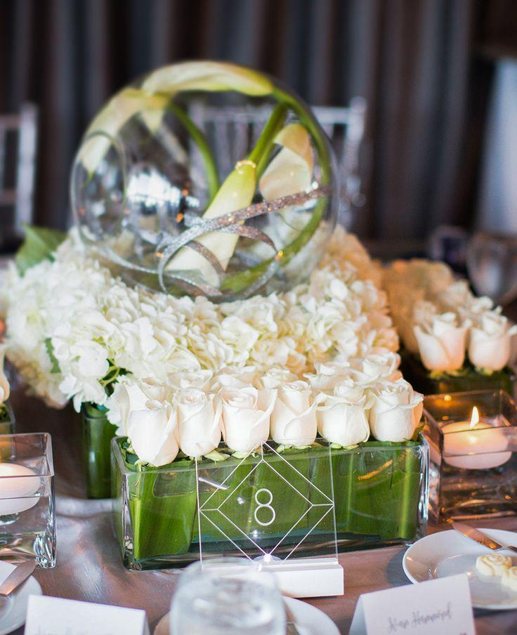 Acrylic Table Numbers For Wedding Tables Party Or Event Clear