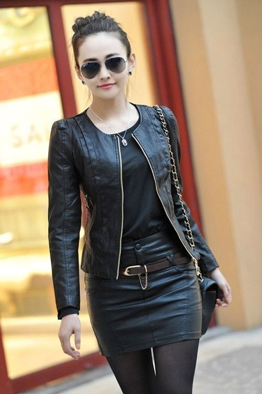 Hochzeit - 80 Most Stylish Leather Jackets For Women In 2017