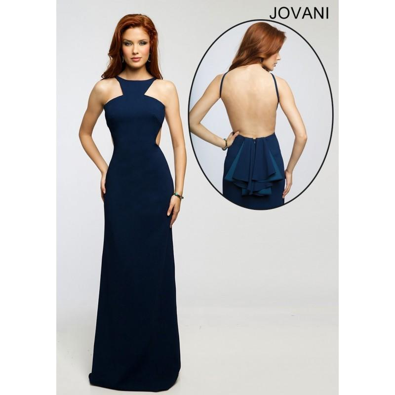 Wedding - Jovani 22696 Radiant Jersey Dress - 2017 Spring Trends Dresses