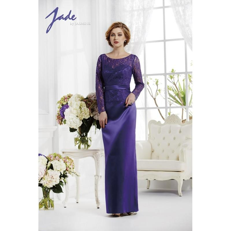 Wedding - Concord Grape Jasmine Jade Mothers Gowns Long Island Jade by Jasmine J165020 Jade by Jasmine - Top Design Dress Online Shop
