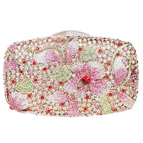 Hochzeit - Luxury Crystal Clutch Bag