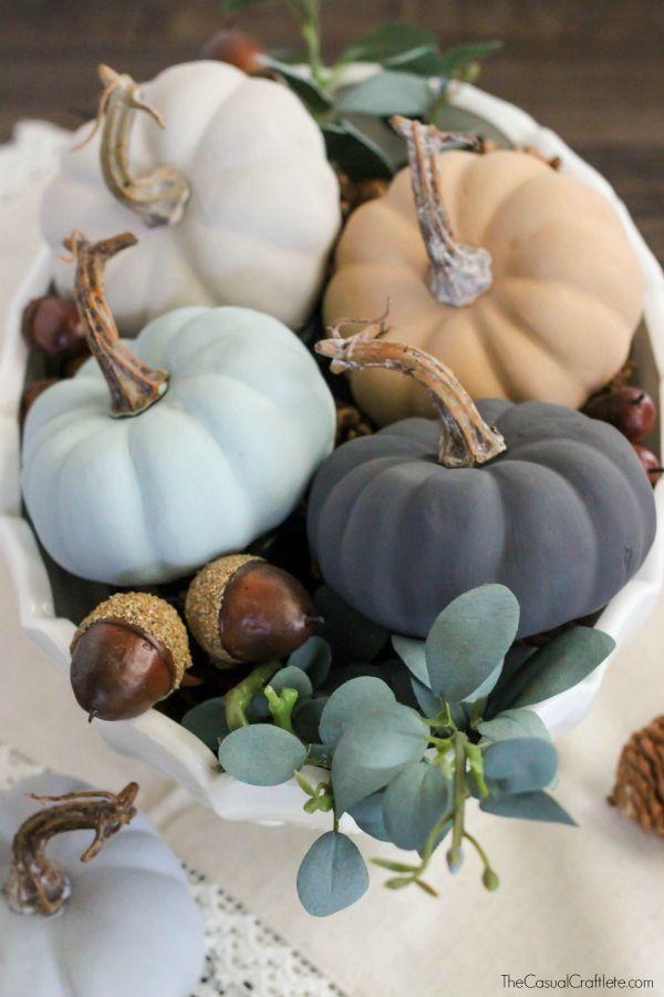 Свадьба - Chalk Pumpkins