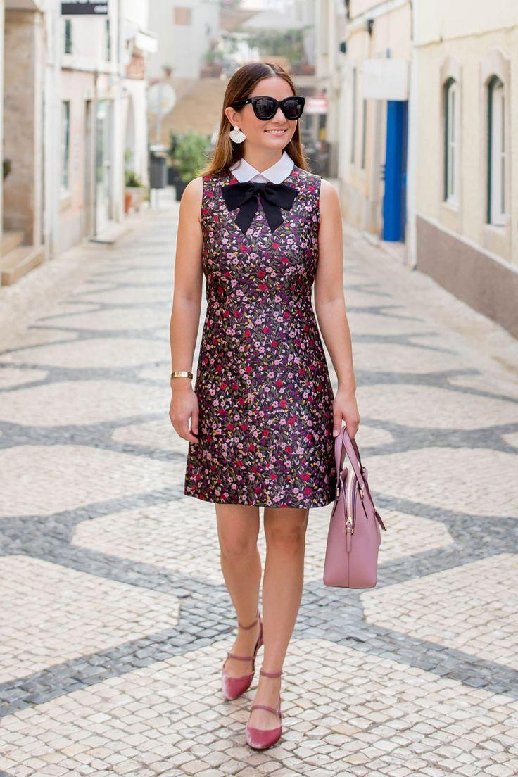 Hochzeit - Kate Spade Boho Floral Jacquard Dress In Portugal