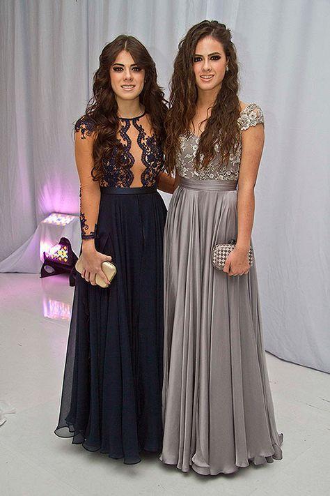 Mariage - Paulina Y Nicole Peña Roban Miradas En La Graduación De Sofía Castro