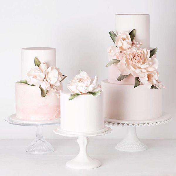 Boda - 50 Of The Prettiest Pink Wedding Cakes