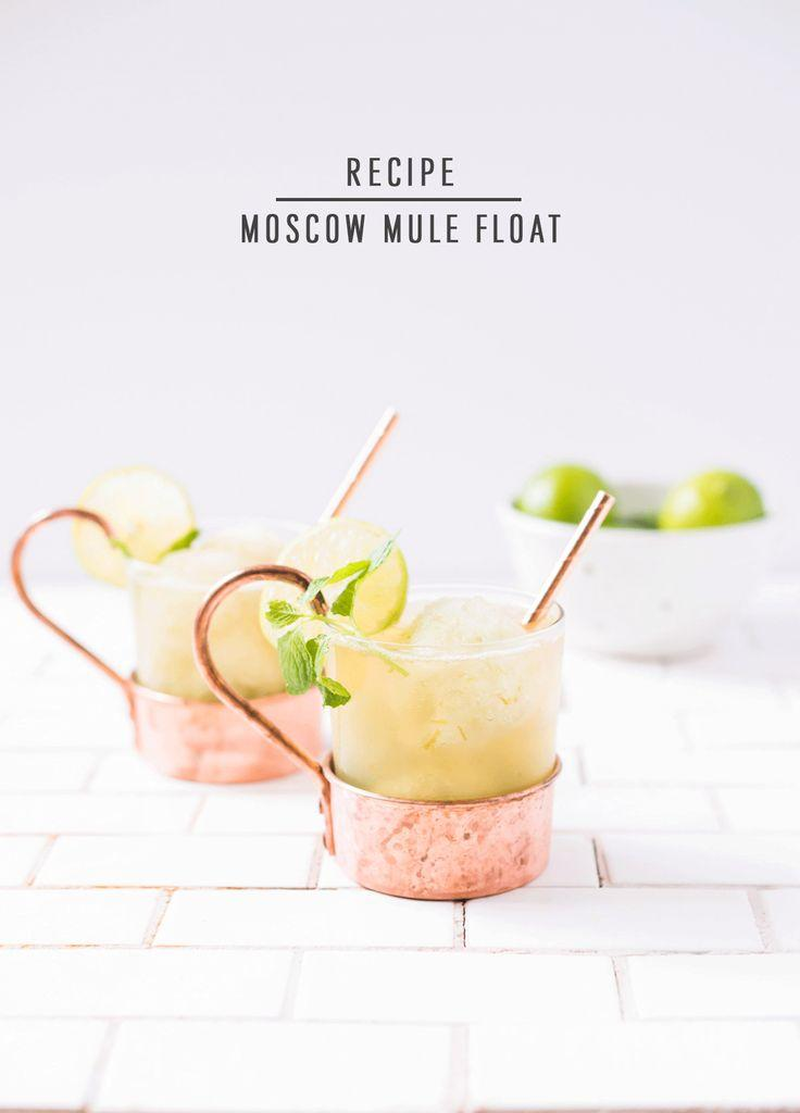 Wedding - Moscow Mule Float