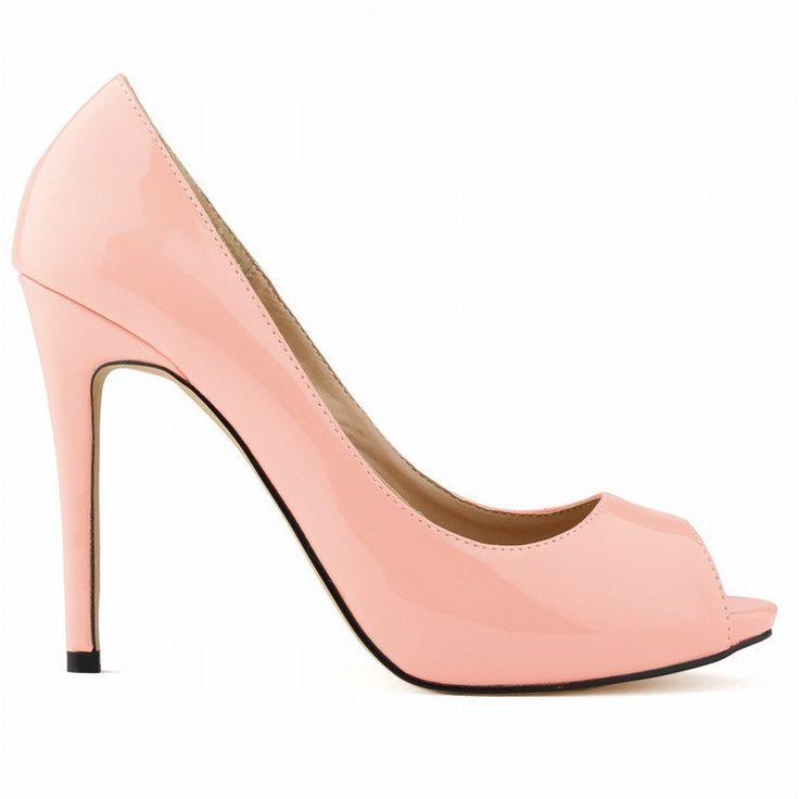 Hochzeit - Fashion Super High Heels Peep-Toe Sandals