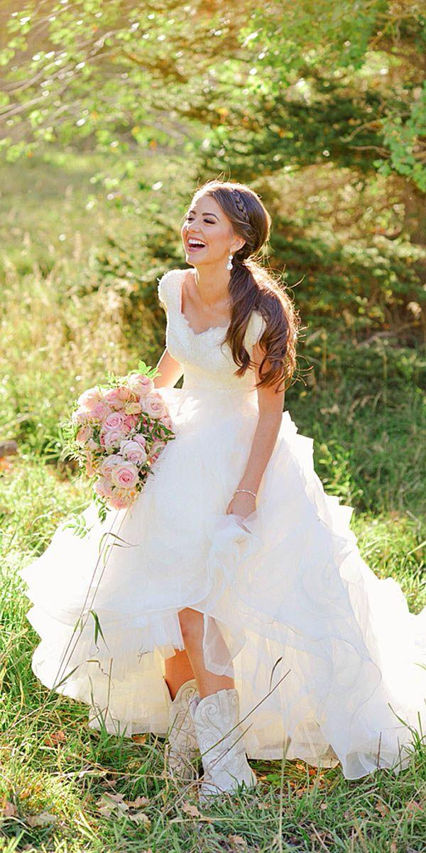 24 Bridal Inspiration: Country Style Wedding Dresses #2766602 - Weddbook