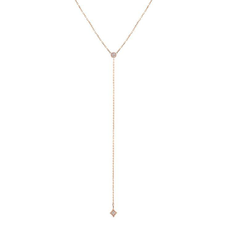 Boda - Star Diamond Lariat Necklace