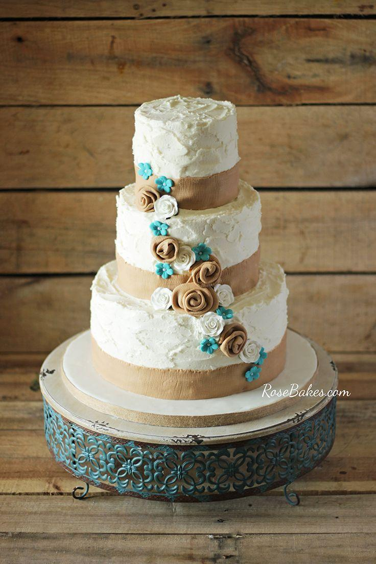 Wedding - Rustic Wedding Cake