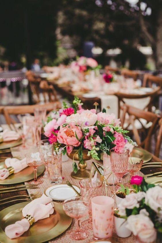 Boda - Decoração De Casamento Rosa: 84 Fotos Inspiradoras