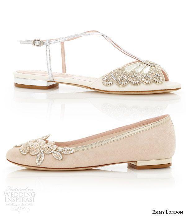 Boda - Emmy London Wedding Shoes — Cancello Bridal Collection