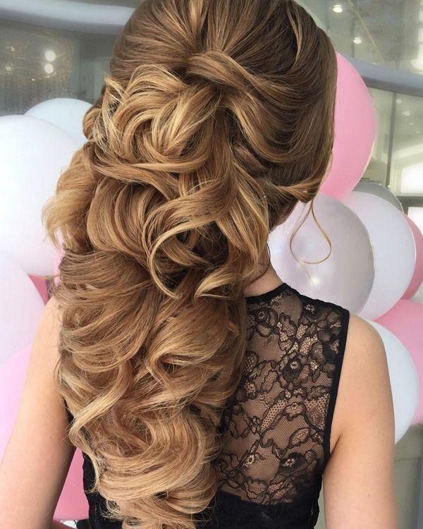 Boda - 65 New Long Wedding Hairstyles & Updos From Elstile