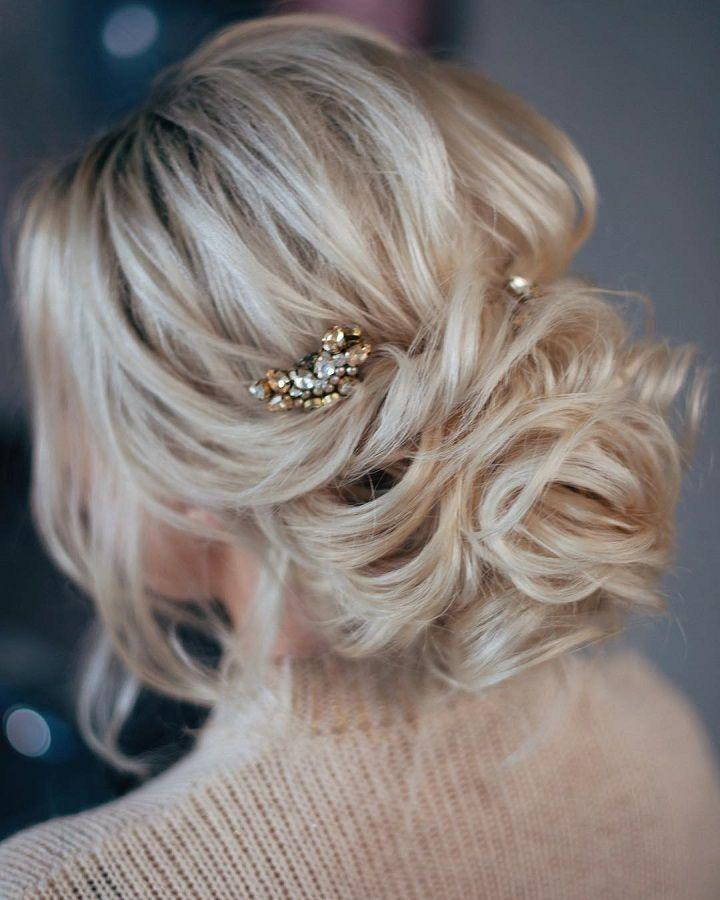Wedding - Beautiful Updo Hairstyle To Inspire Your Big Day