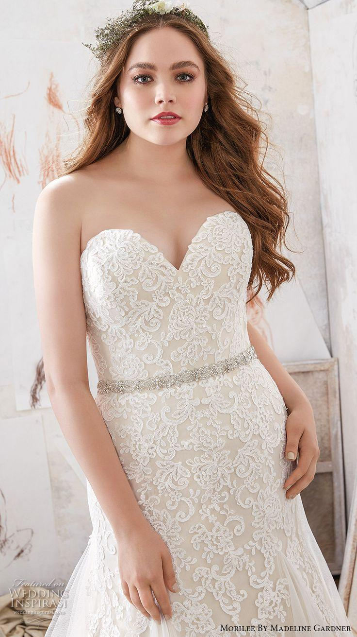 """2fbcbca9d525a Morilee By Madeline Gardner Spring 2017 Wedding Dresses — """"Julietta"""" Plus  Size Bridal Collection"""