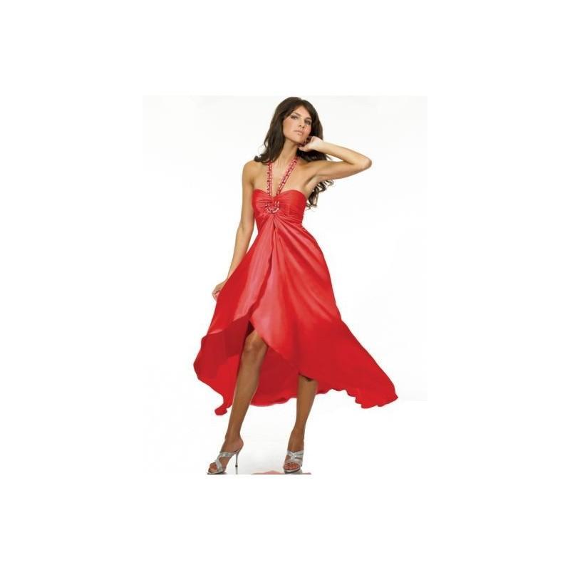 Wedding - ME Prom Satin High Low Prom Dress SR1609 - Brand Prom Dresses