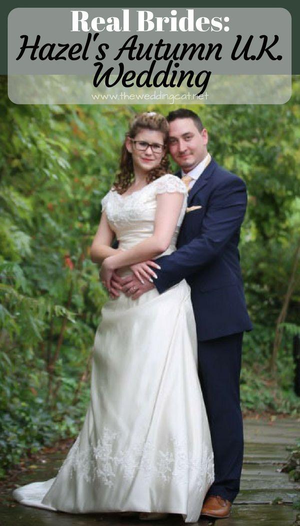 Real Brides Hazel S Autumn U K Wedding