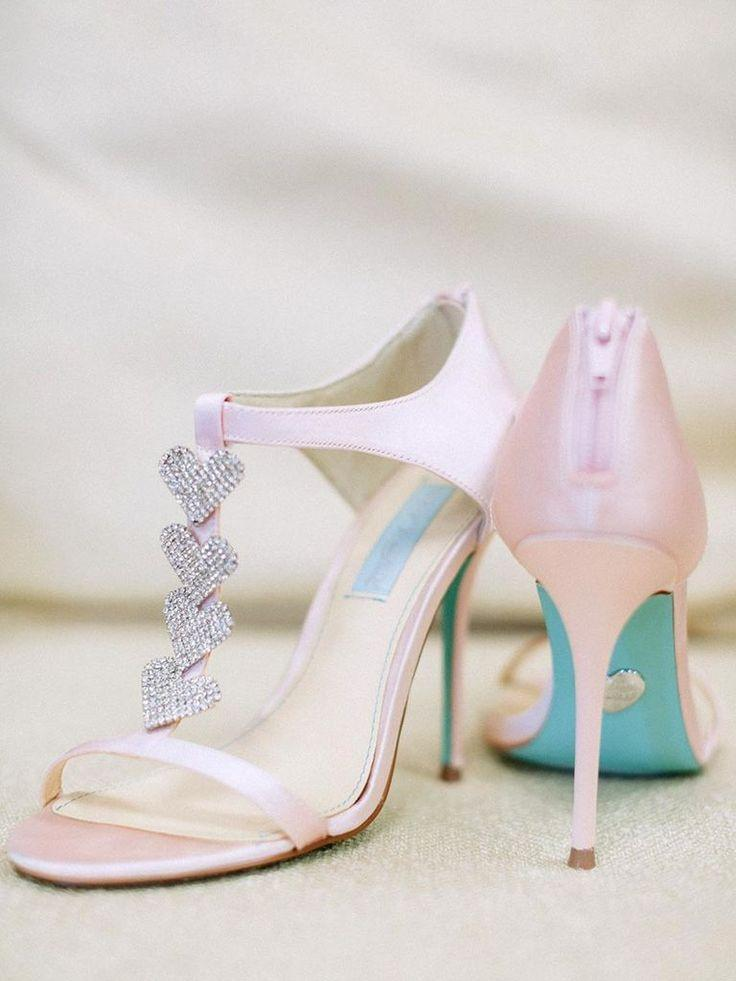 Wedding - 15 Sparkly Wedding Shoes To Make Your Bridal Look Pop