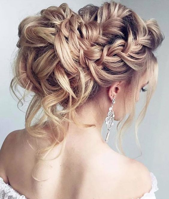 Wedding - Elstile Wedding Hairstyle Inspiration