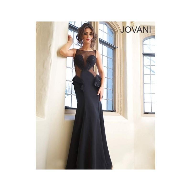 Wedding - Jovani 92923 - 2017 Spring Trends Dresses