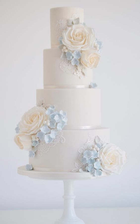 Wedding - Elegant Wedding Cake